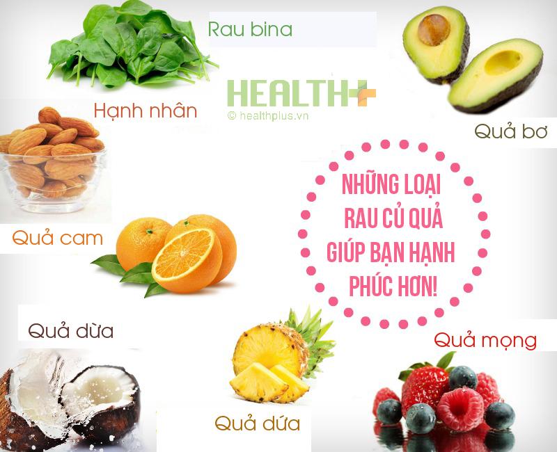 Ăn trái cây và rau tăng cường độ PH