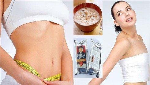 ăn bột yến mạch giúp giảm cân