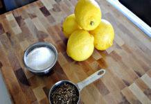 Giải quyết 9 vấn đề sức khỏe với muối tiêu chanh