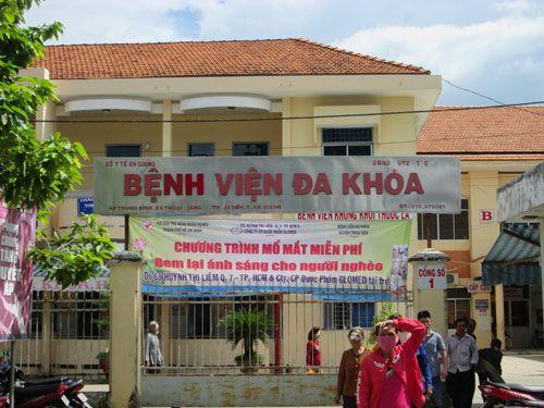 Bệnh viện đa khoa Huyện Thoại Sơn - An Giang