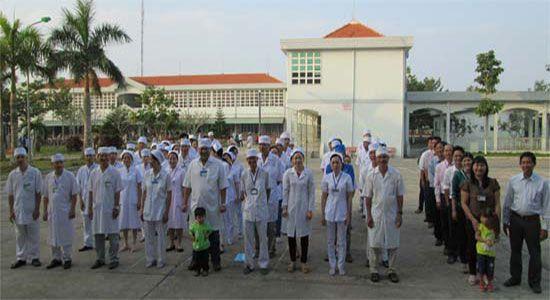 Bệnh viện đa khoa huyện Hồng Dân