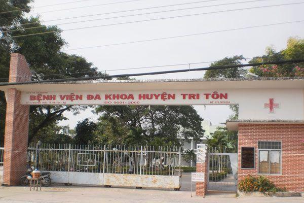 Bệnh viện đa khoa Huyện Tri Tôn -An Giang