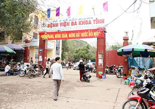 DANH SÁCH CÁC BỆNH VIỆN TẠI TỈNH BẮC GIANG Bệnh viện Đa khoa tỉnh Bắc Giang