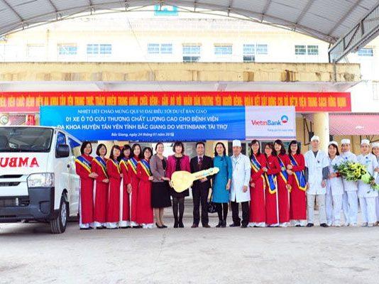 Bệnh viện đa khoa huyện Tân Yên