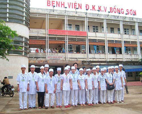 Bệnh viện đa khoa khu vực Bồng Sơn