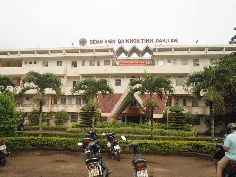 Bệnh viện đa khoa Tỉnh Đắk lắk