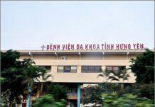 DANH SÁCH CÁC BỆNH VIỆN TẠI TỈNH HƯNG YÊN Bệnh viên đa khoa tỉnh Hưng Yên