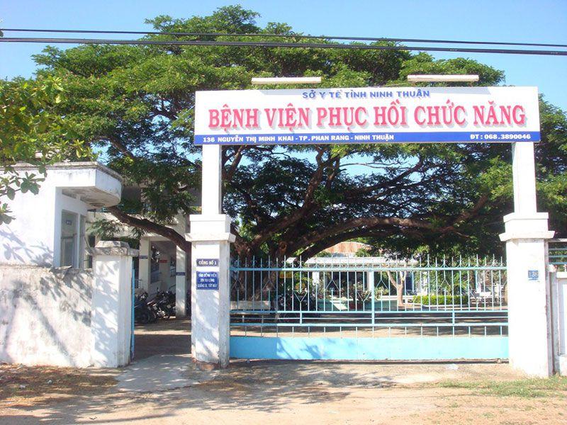 DANH SÁCH CÁC BỆNH VIỆN TẠI TỈNH NINH THUẬN Bệnh Viện Điều Dưỡng và phục hồi chức năng Ninh Thuận