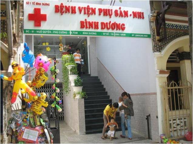 Bệnh viện Phụ sản nhi Bình Dương