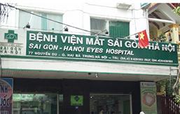 BỆNH VIỆN MẮT SÀI GÒN – HÀ NỘI Địa chỉ: số 77 Nguyễn Du, quận Hai Bà Trưng, Tp. Hà Nội