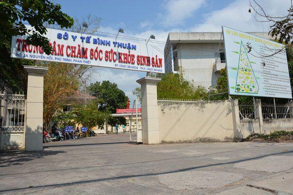 Trung tâm chăm sóc sức khỏe sinh sản tỉnh Bình Thuận