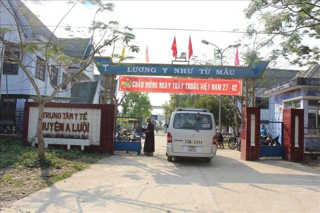 Bệnh viện huyện A Lưới