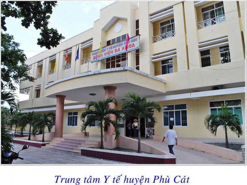 Trung tâm y tế  huyện Phù Cát