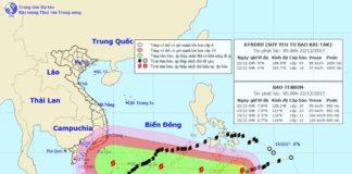Theo dõi tình hình và dự báo mưa bão bằng web Windy.com