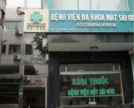 bệnh viện Mắt Sài Gòn