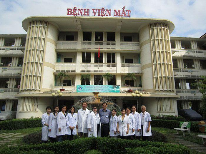 TOP phòng khám mắt bệnh viện mắt uy tín ở TPHCM