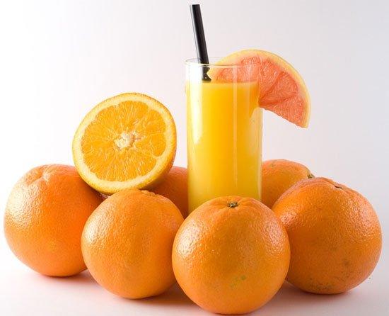 nước cam nhiều vitamin C ngăn ngừa ung thư