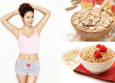 Sinh tố để giảm cân bột yến mạch giảm cân hiệu quả