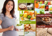 Thực phẩm dinh dưỡng cho mẹ bầu: