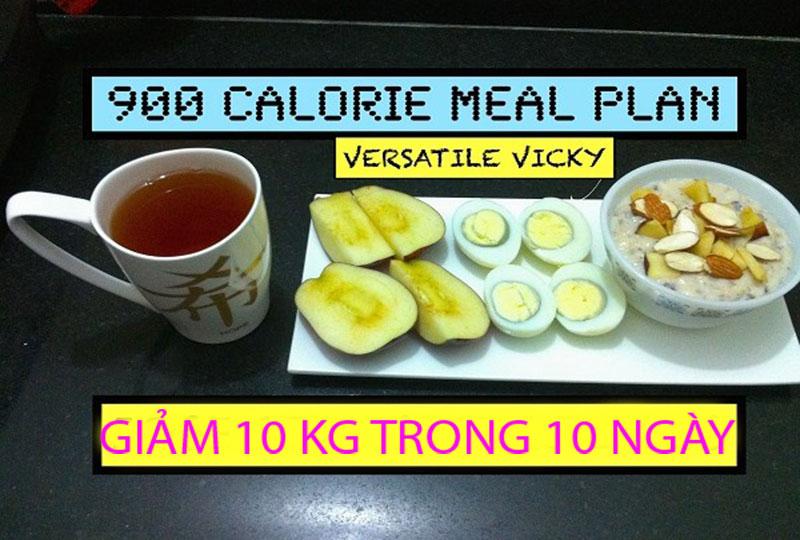 giảm cân nhanh 10 kg trong 10 ngày