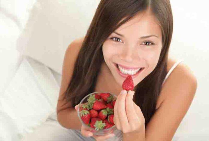bí quyết ăn dâu tây giúp giảm cân hiệu quả
