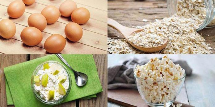 thực phẩm ăn mau no giúp giảm cân