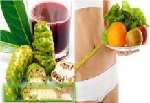Cách giảm cân với quảnhàu: Chọn 2 hoặc 3 quả nhàu chín, chiết nước ép, trộn đều bằng nước ép bưởi và uống 2 hoặc 3 lần trong ngày.