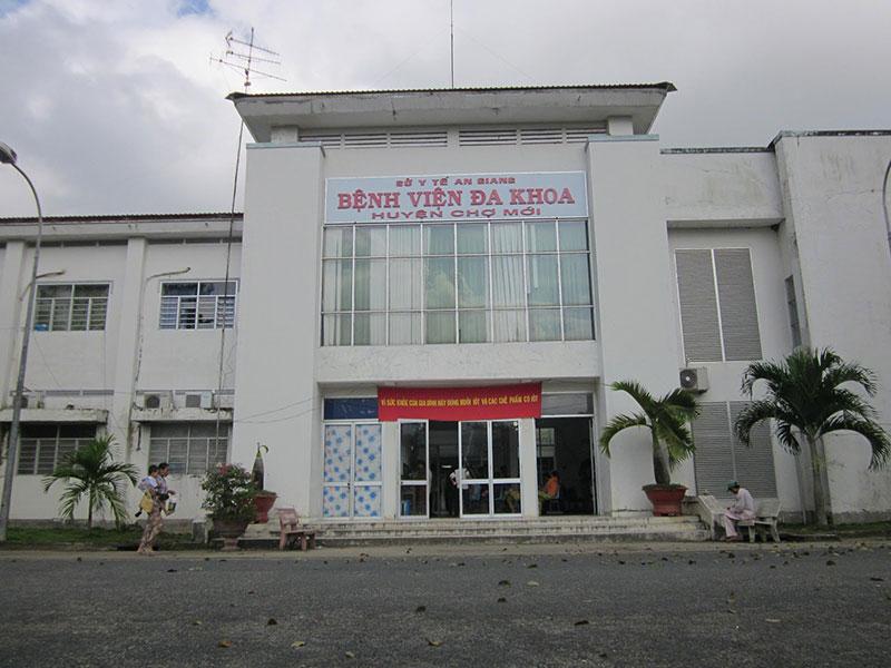 Bệnh viện đa khoa huyện Chợ Mới - An Giang