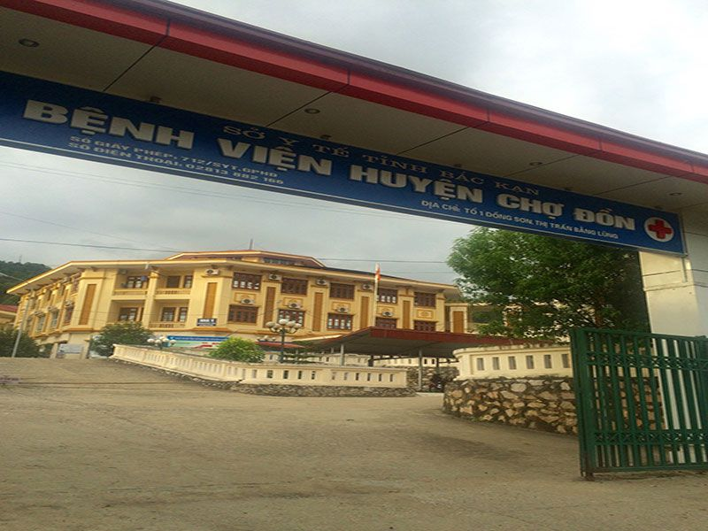 bệnh viện huyện chợ đồn
