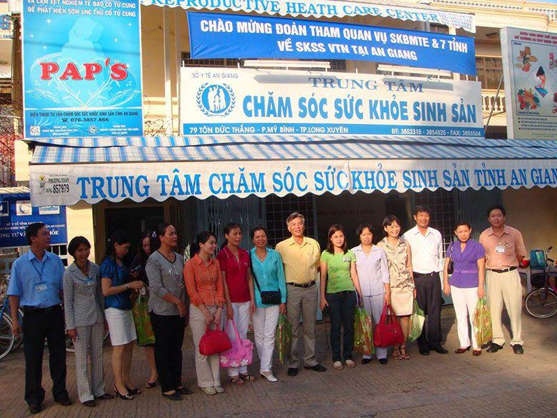 Trung tâm chăm sóc sức khỏe sinh sản tỉnh An Giang