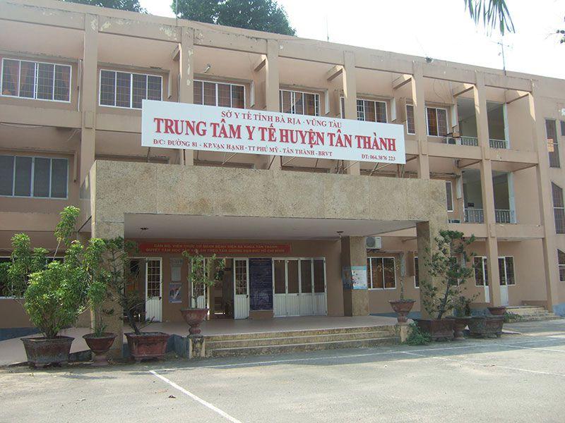 Trung tâm Y tế huyện Tân Thành