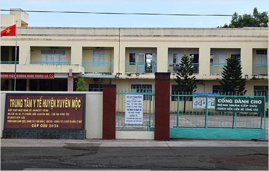 Trung tâm Y tế huyện Xuyên Mộc