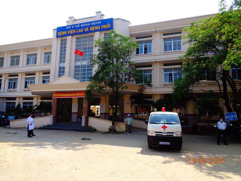 DANH SÁCH CÁC BỆNH VIỆN TẠI TỈNH BÌNH ĐỊNH Bệnh viện chuyên khoa Lao - Phổi Bình Định