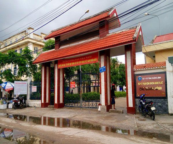 Bệnh viện đa khoa Quảng Bình