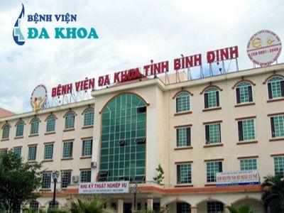 DANH SÁCH CÁC BỆNH VIỆN TẠI TỈNH BÌNH ĐỊNH Bệnh viện đa khoa tỉnh Bình định