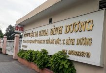 DANH SÁCH CÁC BỆNH VIỆN TẠI TỈNH BÌNH DƯƠNG Bệnh viện Đa khoa tỉnh Bình Dương