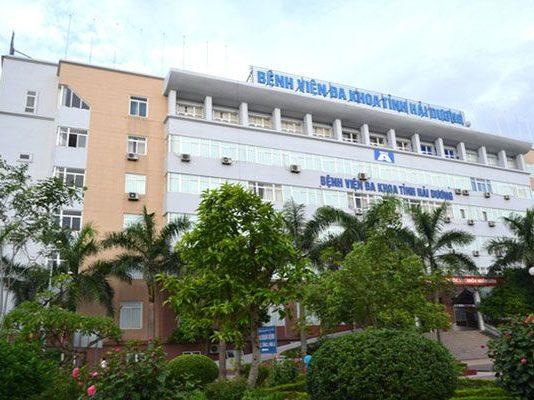 DANH SÁCH CÁC BỆNH VIỆN TẠI TỈNH HẢI DƯƠNG Bệnh viên đa khoa tỉnh Hải Dương