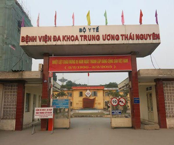 DANH SÁCH CÁC BỆNH VIỆN TẠI TỈNH THÁI NGUYÊN Bệnh viện Đa Khoa Trung ương Thái Nguyên