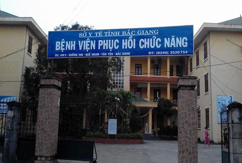 Bệnh viện Điều dưỡng Phục hồi chức năng Bắc Giang