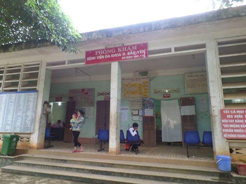 Bệnh viện huyện Bắc Yên