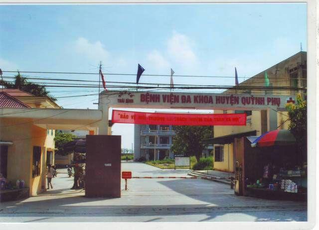 DANH SÁCH CÁC BỆNH VIỆN TẠI TỈNH THÁI BÌNH Bệnh viện huyện Quỳnh Phụ
