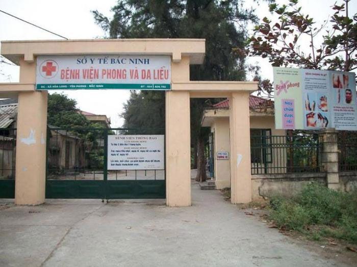 DANH SÁCH CÁC BỆNH VIỆN TẠI TỈNH BẮC NINH Bệnh viện Phong & Da liễu Bắc Ninh