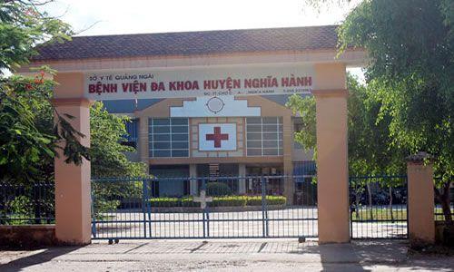 Bệnh viện đa khoa huyện Nghĩa Hành