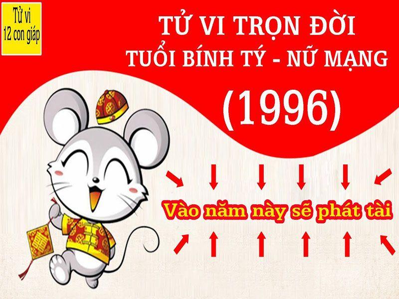 TỬ VI NĂM 2018 TUỔI BÍNH TÝ NỮ MẠNG 1996