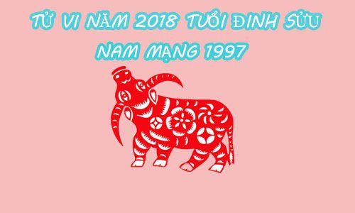 TỬ VI 2018 TUỔI ĐINH SỬU 1997 - NAM MẠNG