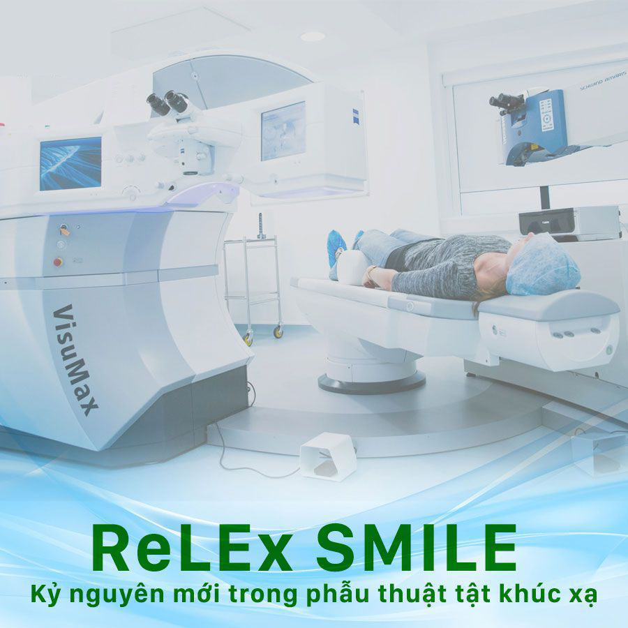 Phẫu thuật ReLEx SMILE ® kỷ nguyên mới trong điều trị tật khúc xạ