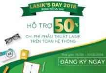 LASIK'S DAY 2018 bùng nổ ưu đãi tại Bệnh viện Mắt Sài Gòn