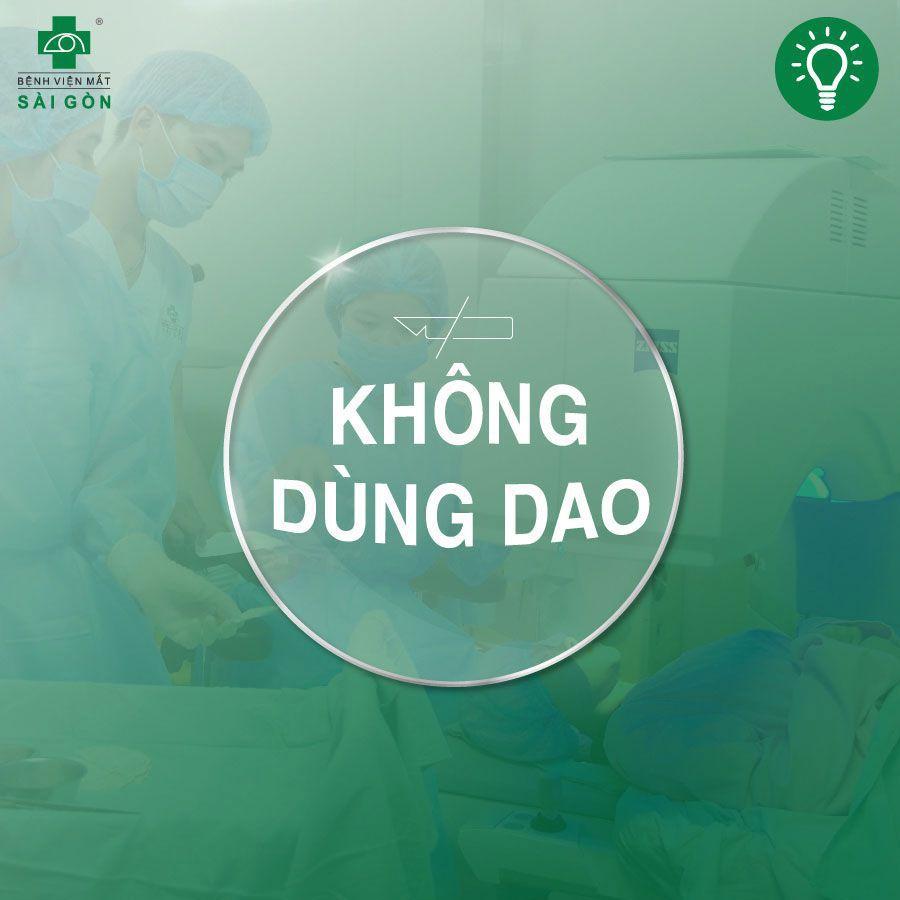 Review mổ mắt cận bệnh viện mắt Sài Gòn