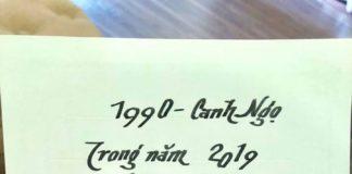 Canh ngọ 1990 tử vi năm 2019
