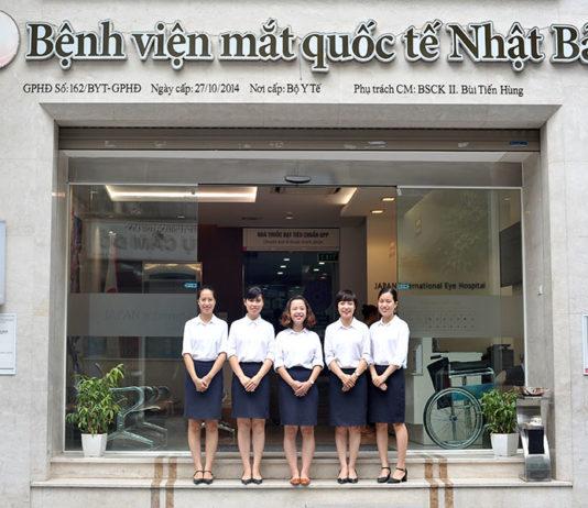 Bệnh viện mắt quốc tế Nhật Bản Hà Nội